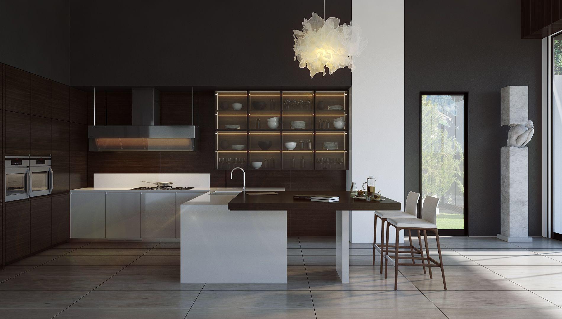 Modern Kitchen Poliform Modern Kitchen Poliform Modern Kitchen Interiors Kitchen Interior Design Modern Modern Kitchen Design