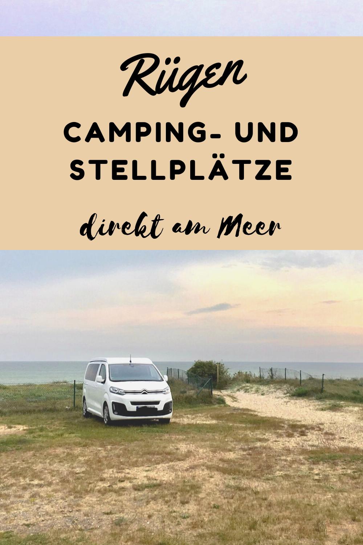 Rügen - Camping- und Stellplätze direkt am Meer