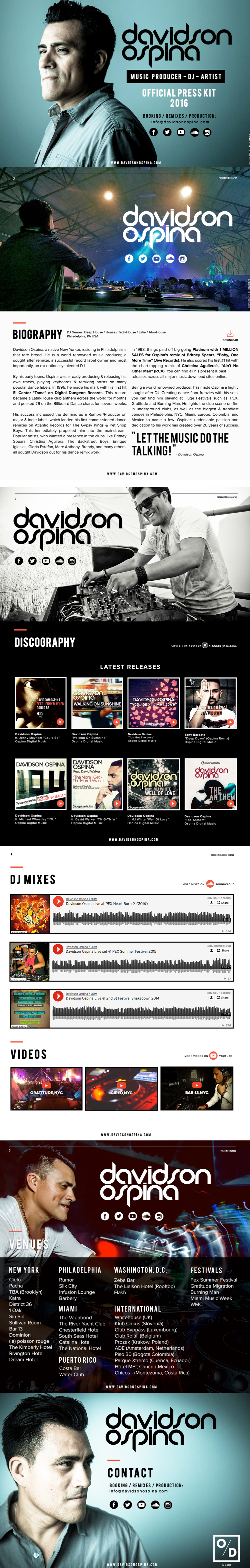 mini stix dj resume press kit resume template the design of this web page is very inspiring the biography images and