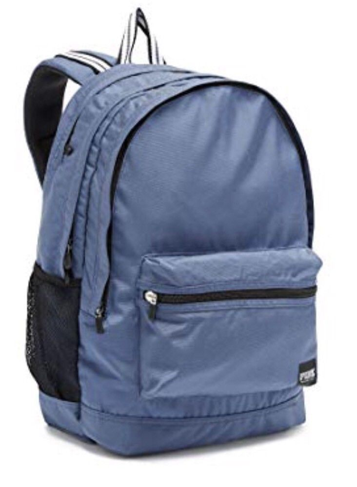 208341286e67 Victoria s secret PINK Campus Backpack Blue New With Tags   69.99 End Date   Friday Oct-19-2018 14 30 04 PDT Buy It Now for only   69.99 Buy…