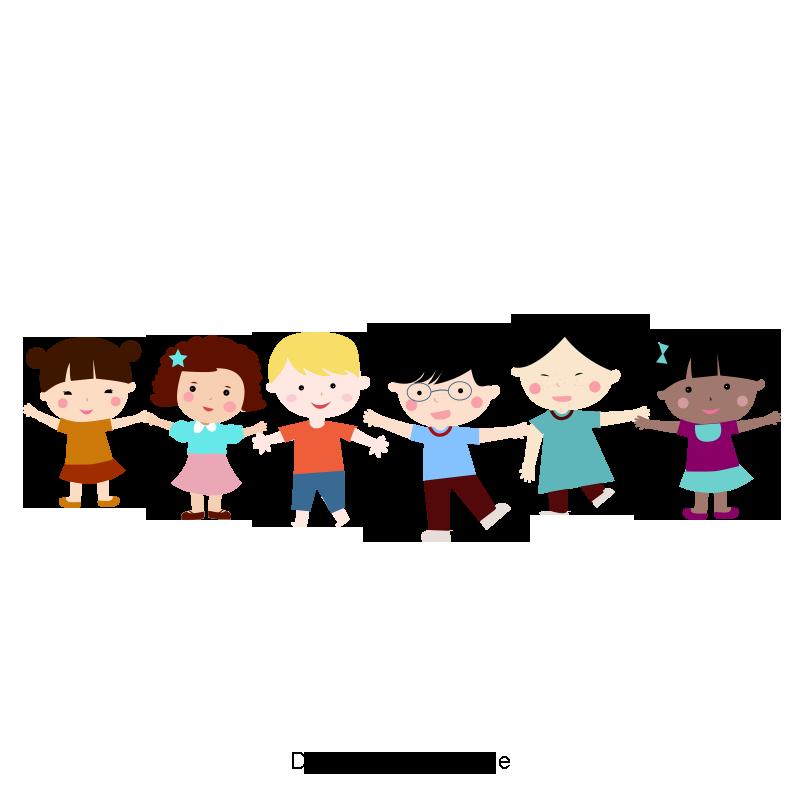 만화 아이 손을 잡고 행복한 아이들 잡고 손 클립 아트 클립 아트 클립 아트무료 다운로드를위한 Png 및 Psd 파일 ภาพต ดปะ การ ต น เด ก ๆ