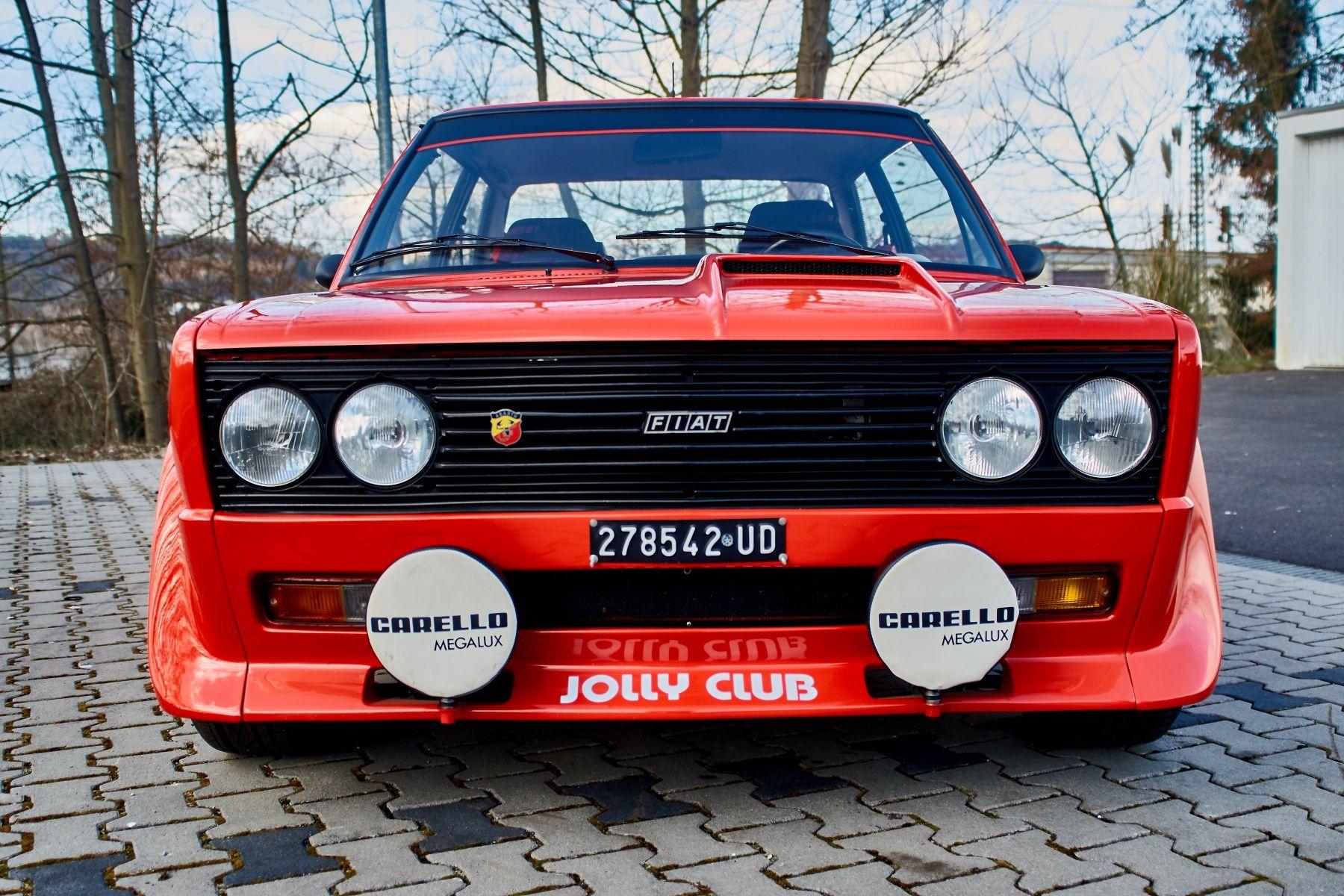 1976 Fiat 131 Abarth Rally Stradale Classic Driver Market Con