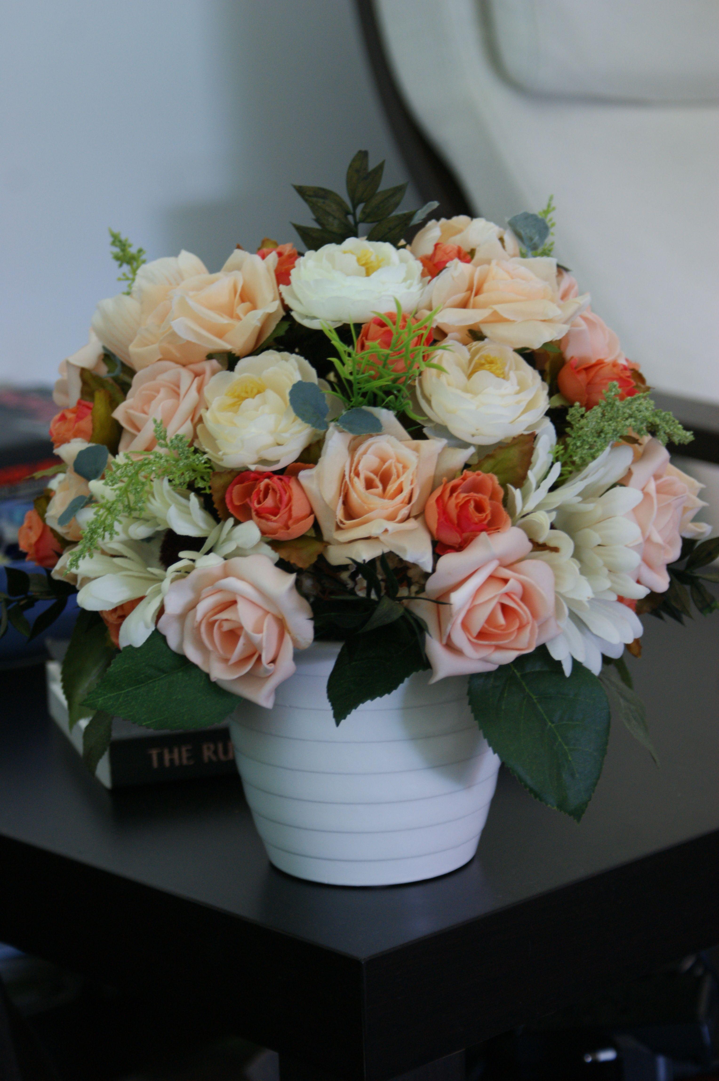 Aranjament Flori Artificiale Romantic Dream Idei De Prezentare