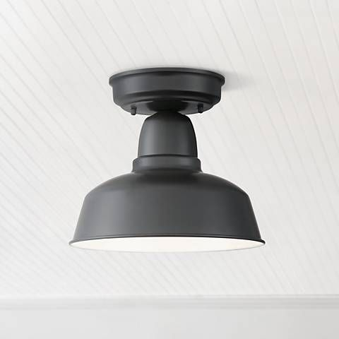 Urban Barn 10 1 4 Wide Black Outdoor Ceiling Light 13t62 Lamps Plus Outdoor Ceiling Lights Black Ceiling Lighting Ceiling Lights