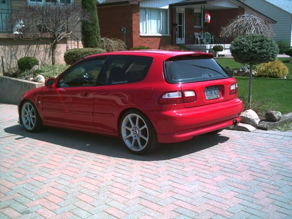 Lovely 94 Honda Civic SI More