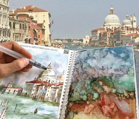 Attention Ma Nouvelle Invention En Peinture A L Aquarelle