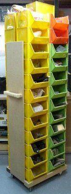 Rangement – Bacs à légumes sur roues / Storage – Vegetable Bins on Wheels | Atelier du Bricoleur (menuiserie)…..…… Woodworking Hobbyist's Workshop