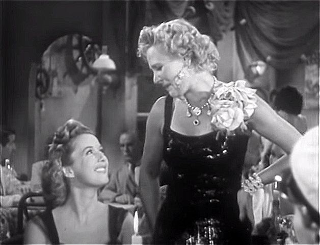 Phyllis Brooks, unidentified actress (as Marge)   Dangerous Passage (1944)