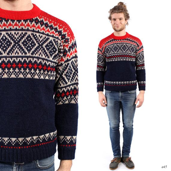 Mens Nordic Sweater Knitwear Men Knit Men Men S Knit
