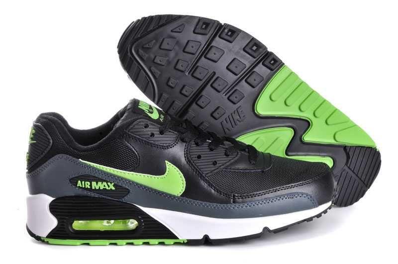 online store b31b4 179ae 1767   Nike Air Max 90 Herr Svart Grön SE432127yLxvdWp