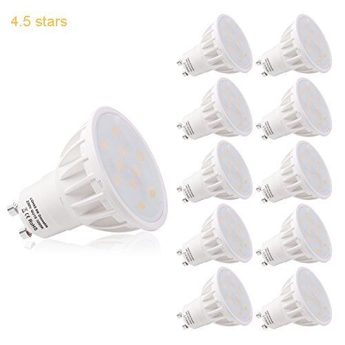Lohas Dimmable Gu10 6w Led Beautiful 3000k Warm White 50w Replacement For Halogen Bulb 120beam Angleultra Bright Le Led Light Bulbs Dimmable Led Led Light Bulb