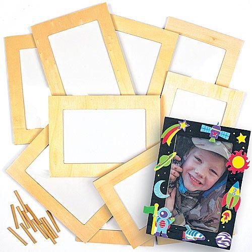 Wooden Photo Frames Bulk Pack - Bakerross | Keepsakes and Craft