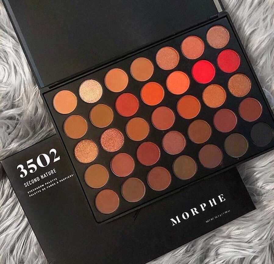 New Hot  Morphe 35O 2 Second Nature Makeup Eyeshadow Palette /& Free ship /& gifts