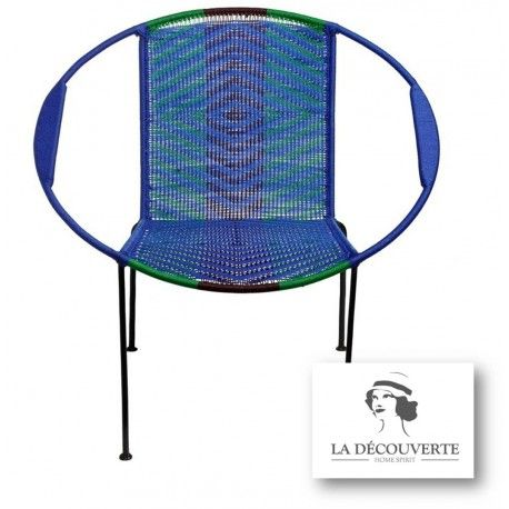 Fauteuil Mix Bleu Togo Sema Design Fauteuils Tables Basses