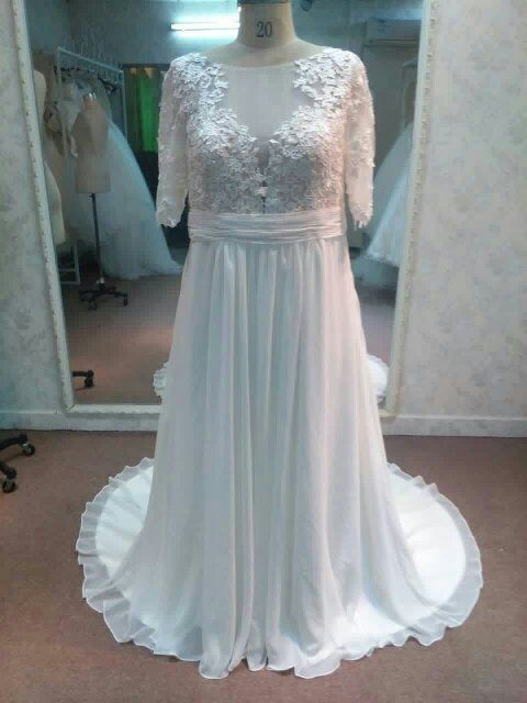 Short Sleeve Plus Size Wedding Dresses by Darius Bridal | Gowns ...