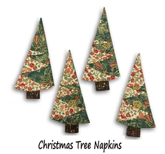 Free Pattern Downloads Jordan Fabrics In 2020 Christmas Tree Napkins Christmas Sewing Projects Fabric Christmas Trees