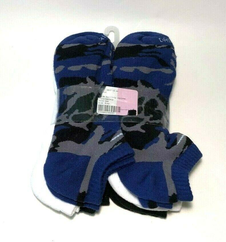 Nike 6 pack drifit cushioned noshow mens socks l 612