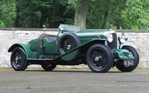 1931 Bentley 4 ½ Litre SC Blower Sports 2/3 Seater Boattail