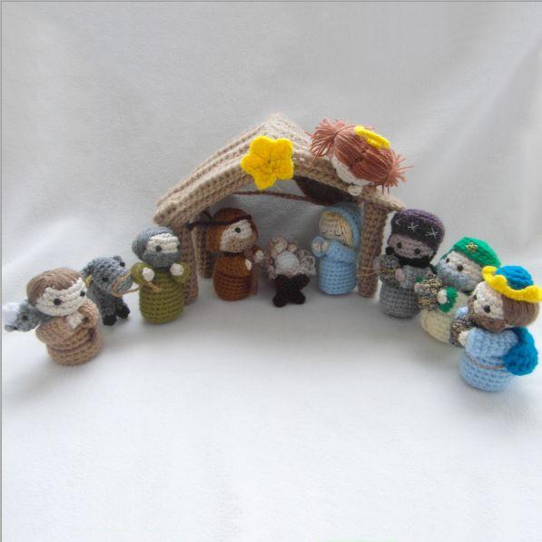 crochet nativity scene | Crochet and Knitting ideas | Pinterest ...