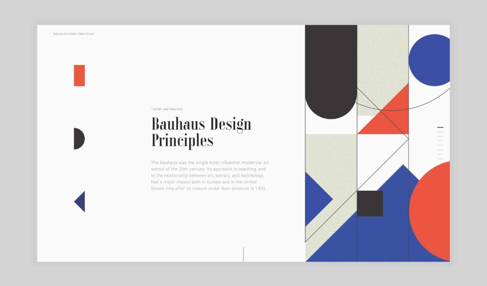 Bauhaus Website Design Google Search In 2020 Bauhaus Design Website Design Bauhaus