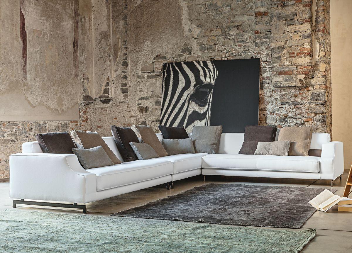 Ideny Corner Sofa Contemporary Sofas From Vibieffe Italy