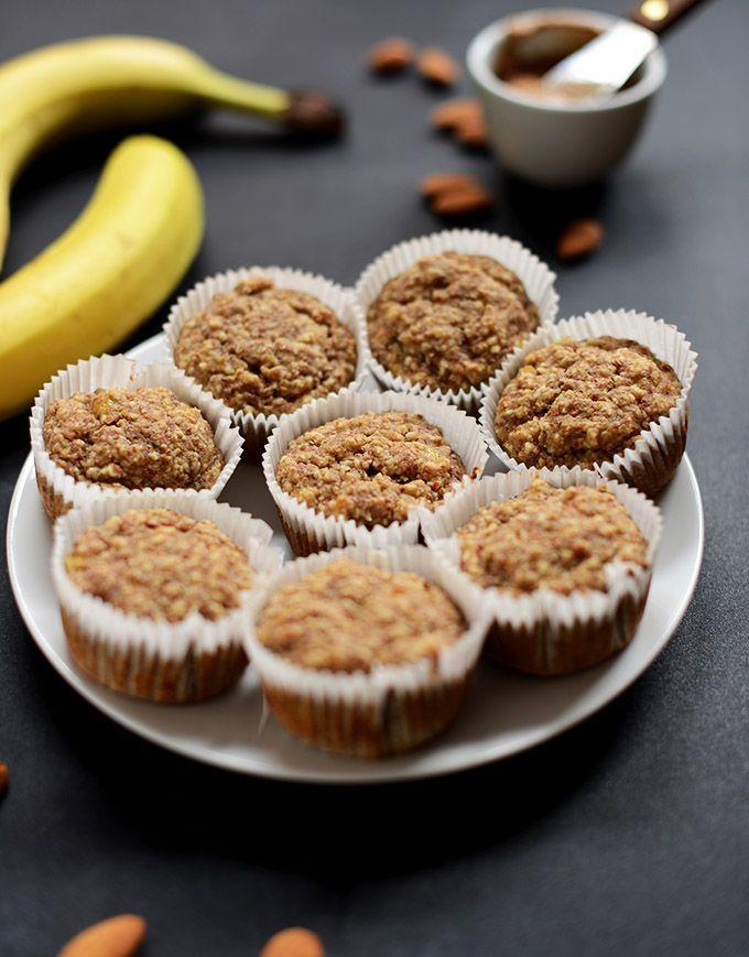 Banana Almond Meal Muffins Gluten Free Vegan