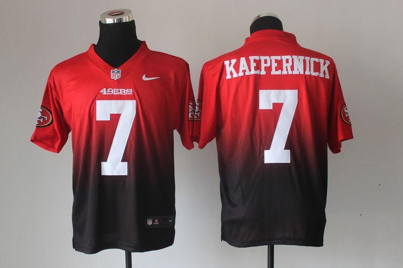 72297b5520f NFL Nike San Francisco 49ers 7  Colin Kaepernick Drift Fashion II Elite  Jerseys