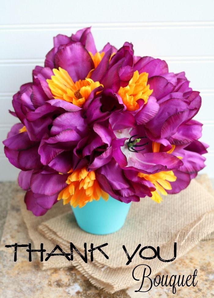 Thank You Bouquet for Teacher Appreciation Week | Appreciation ...