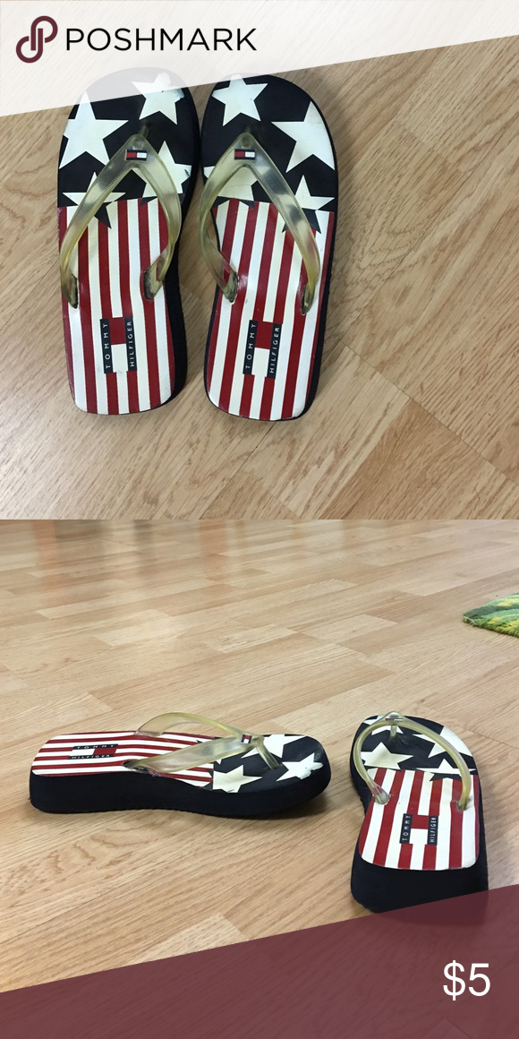 American flag Tommy Hilfiger sandals American flag Tommy Hilfiger sandals Tommy Hilfiger Shoes Sandals