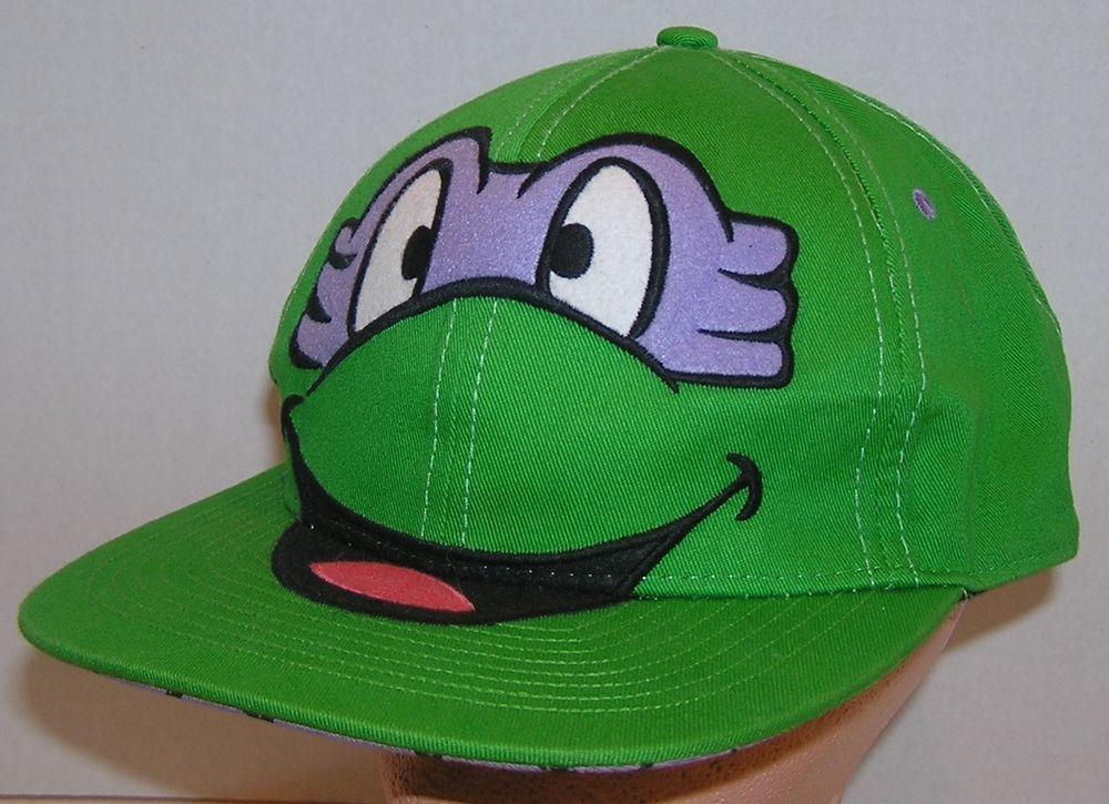 teenage mutant ninja turtles baseball hat nickelodeon cap age turtle