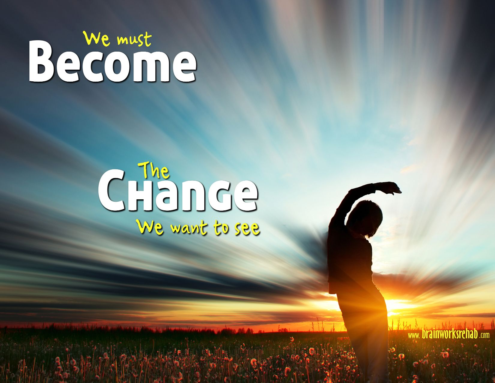 Become the change you want to see | Wise quotes ...