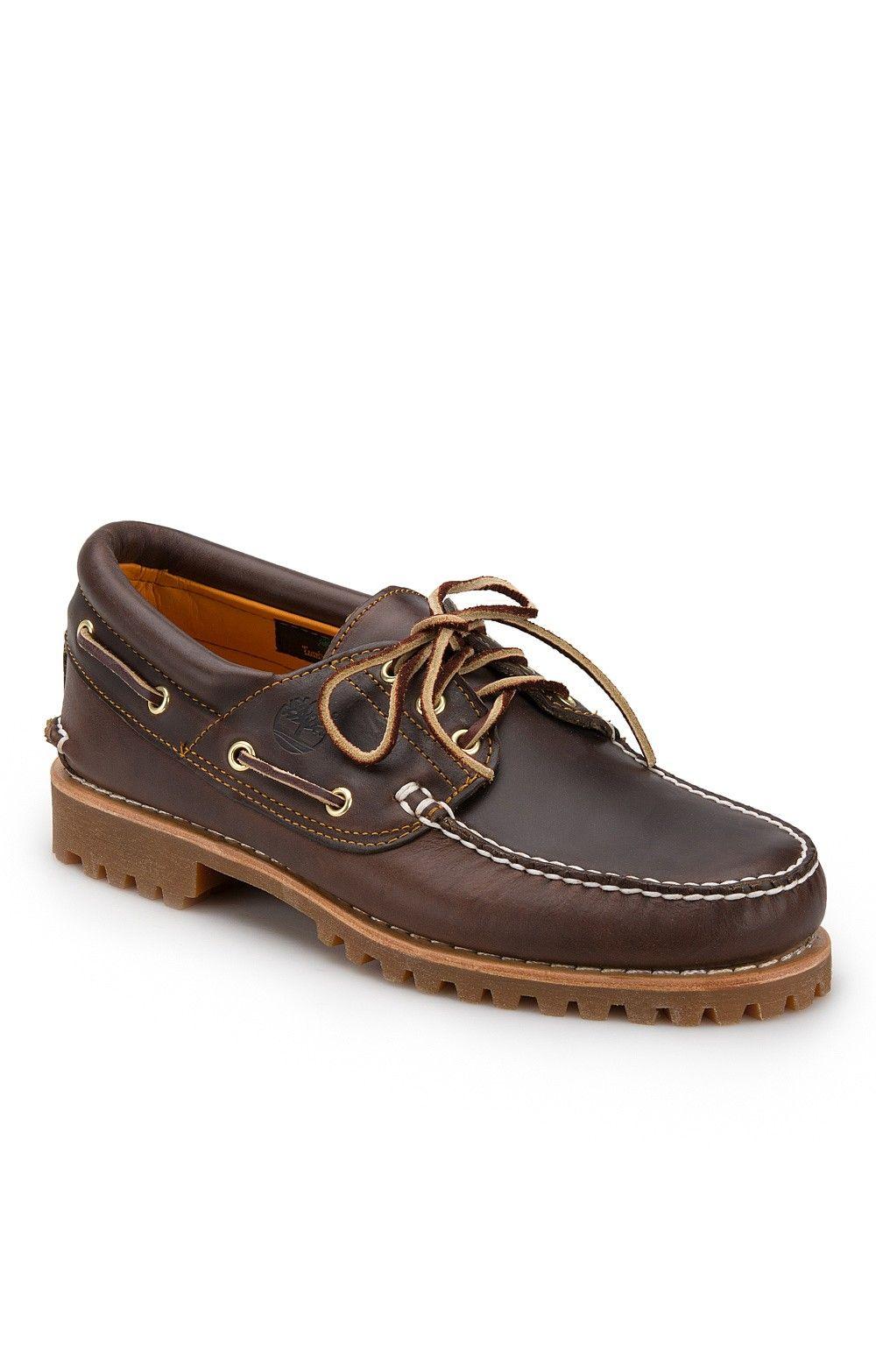 Mens Timberland 3 Eye Boat Shoe in 2020