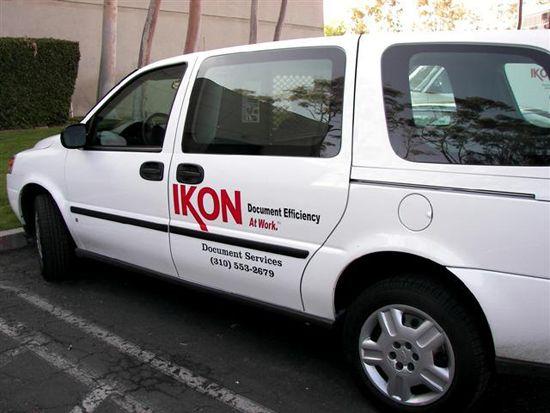 Ikon Vehicle Diecut Graphics Vehicles Sign Display Vans