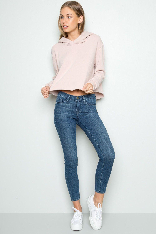 Estremamente Brandy ♥ Melville   Lennon Hoodie - Hoodies - Sweaters - Clothing  GW79