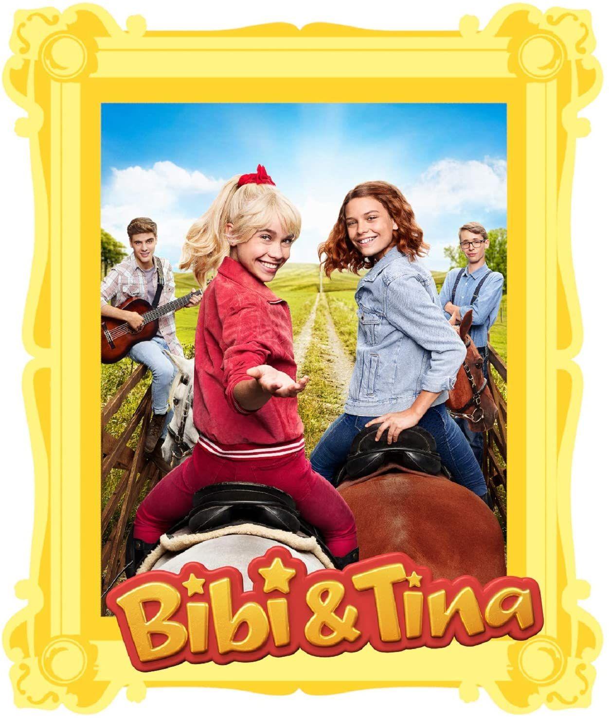 Bibi Tina Serie Wandtattoos Mit Bibi Tina Pferden Bibi Und Tina Kinder Wandtattoo