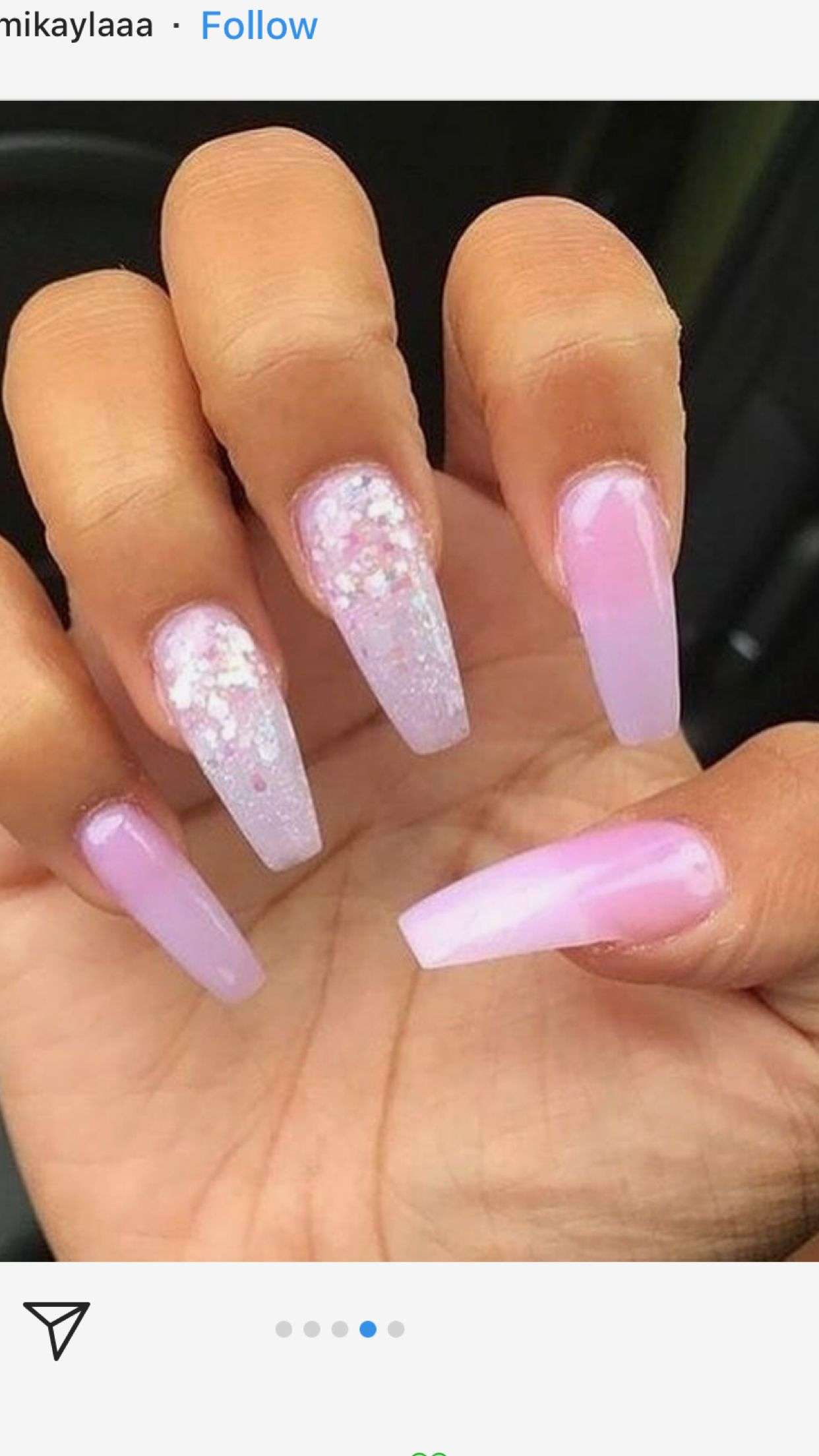 Birthday Nails I Can Totally Do This Myself Cute Acrylic Nails Pretty Nails Nails