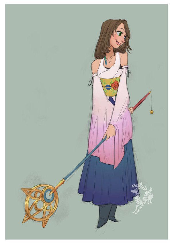 Yuna by DavidAdhinaryaLojaya on DeviantArt