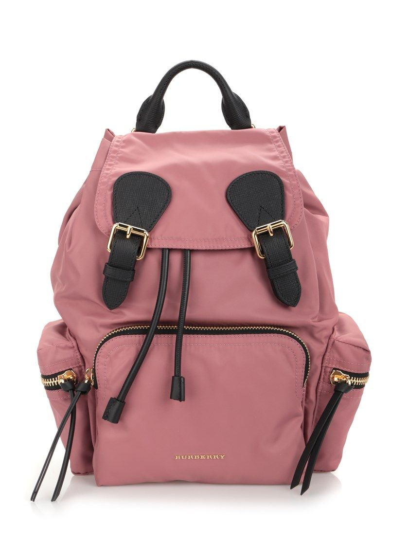 b5380b042 BURBERRY 'Rucksack' Pink Backpack. #burberry #bags #leather #nylon  #backpacks #