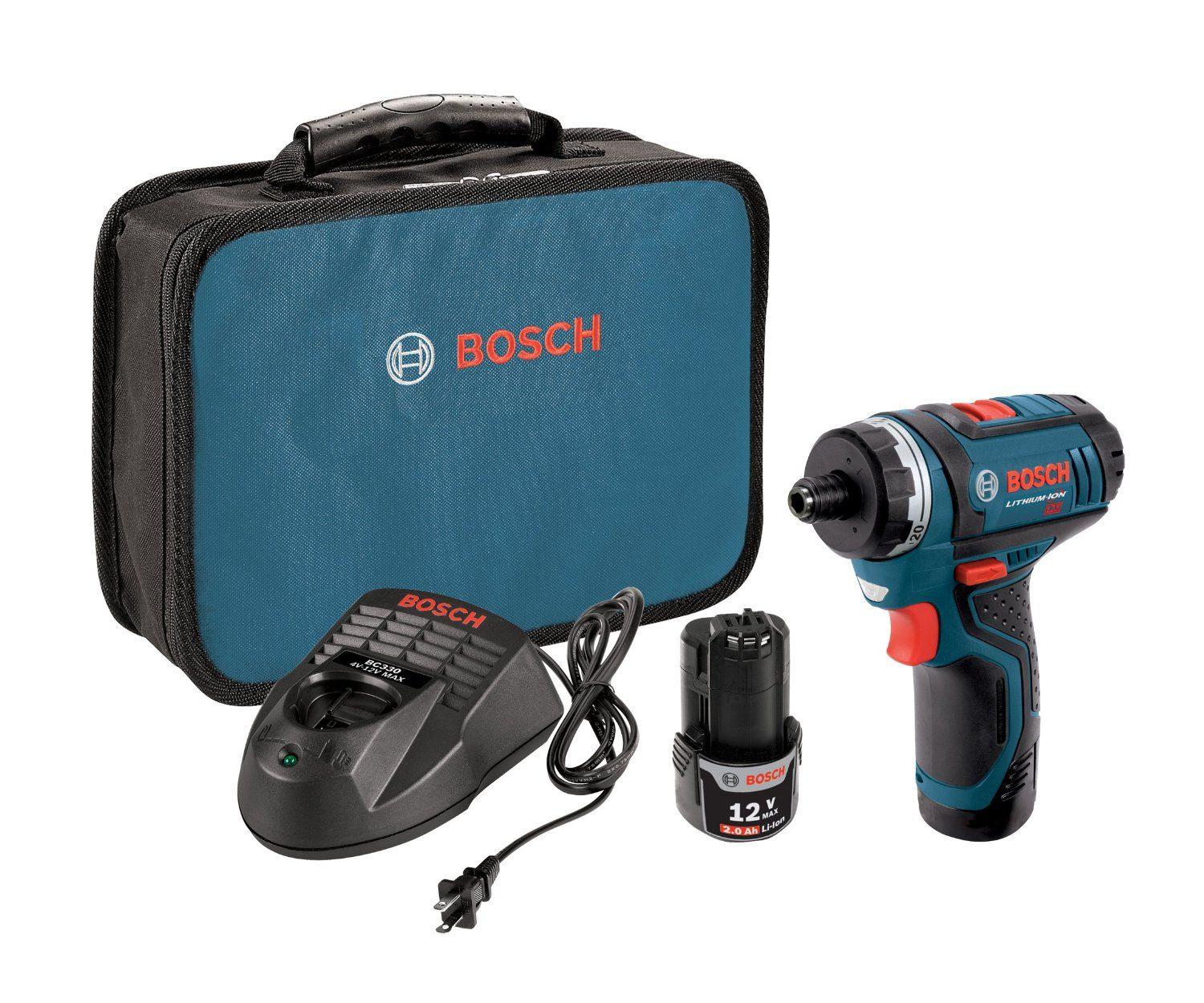 Bosch Ps21 2a 12 Volt Max Lithium Ion 2 Speed Pocket Driver Kit With 2 Batteries Charger And Case Continue With Images Cordless Drill Reviews Combo Kit Cordless Drill