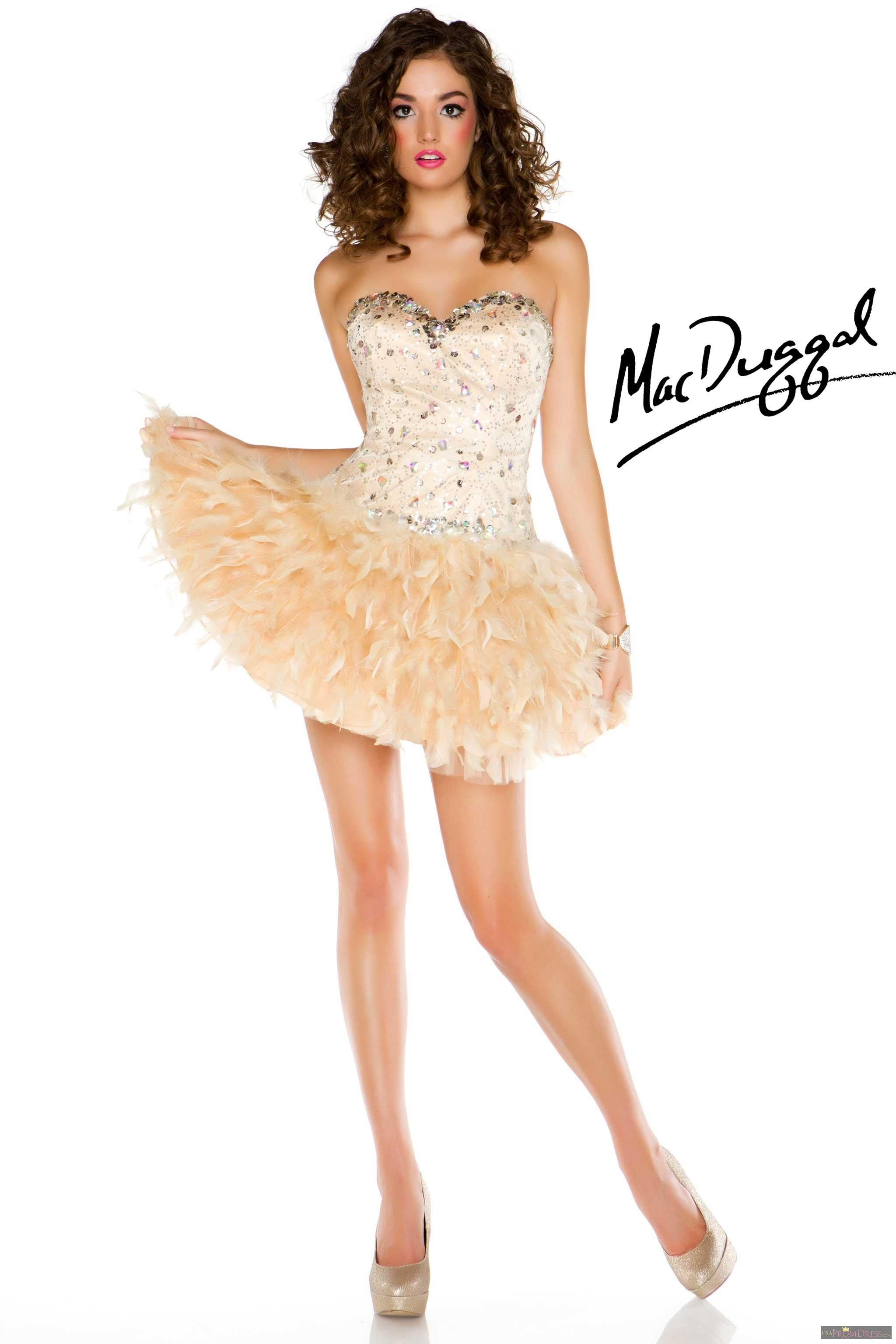 Mac Duggal Style 61102B - If you like fun, flirty, and funky this is ...