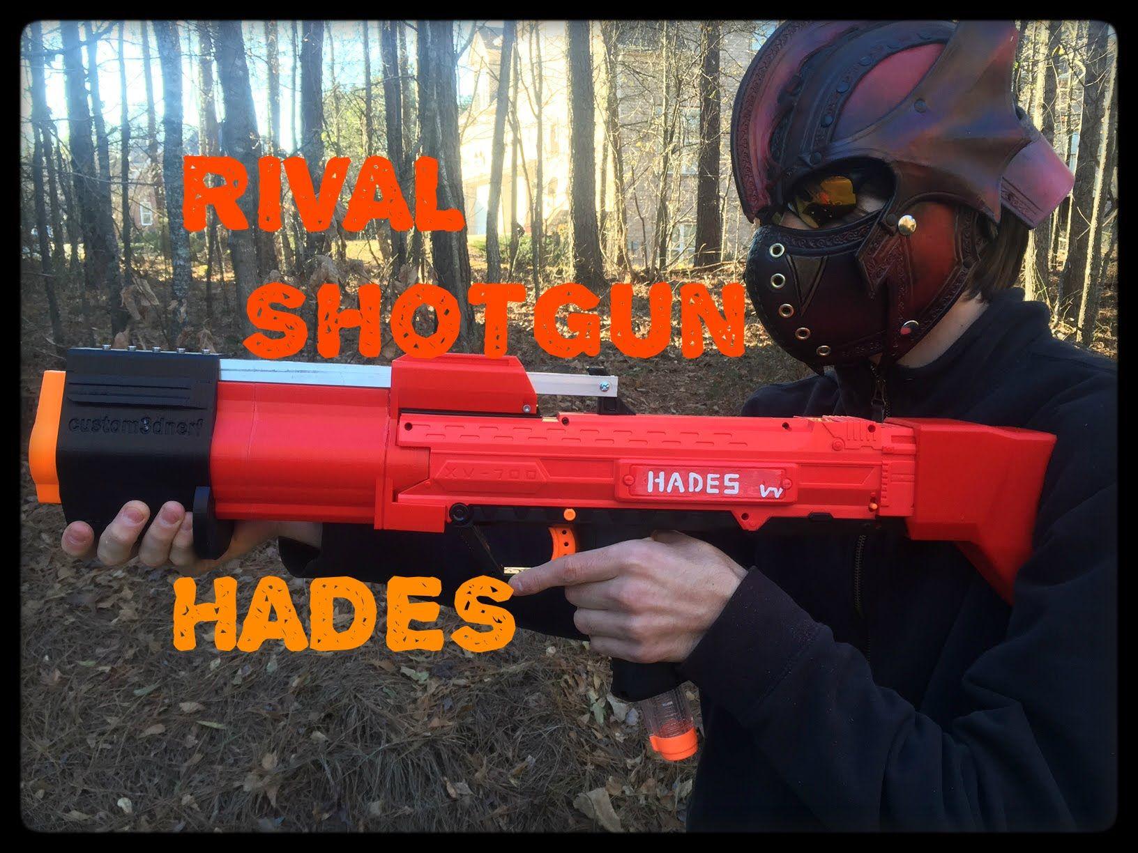NERF MOD RIVAL HADES SHOTGUN Pump Action Apollo Kit