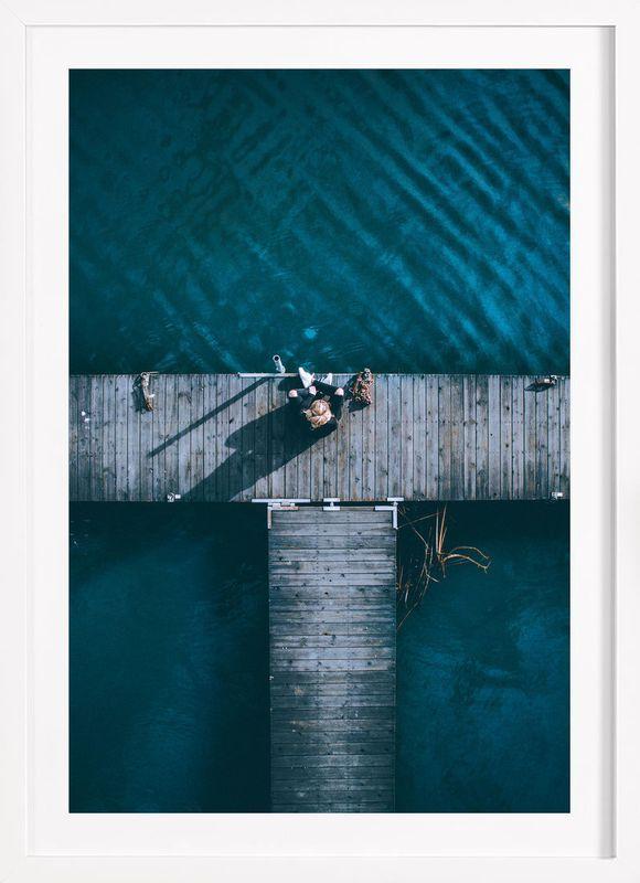 Amanda als poster im holzrahmen von airpixels media juniqe · wall art printsframed