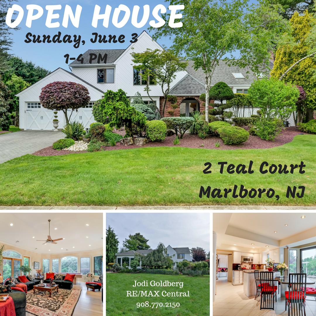 New Listing Open House 2 Teal Court Marlboro Nj Open House Outdoor Structures House
