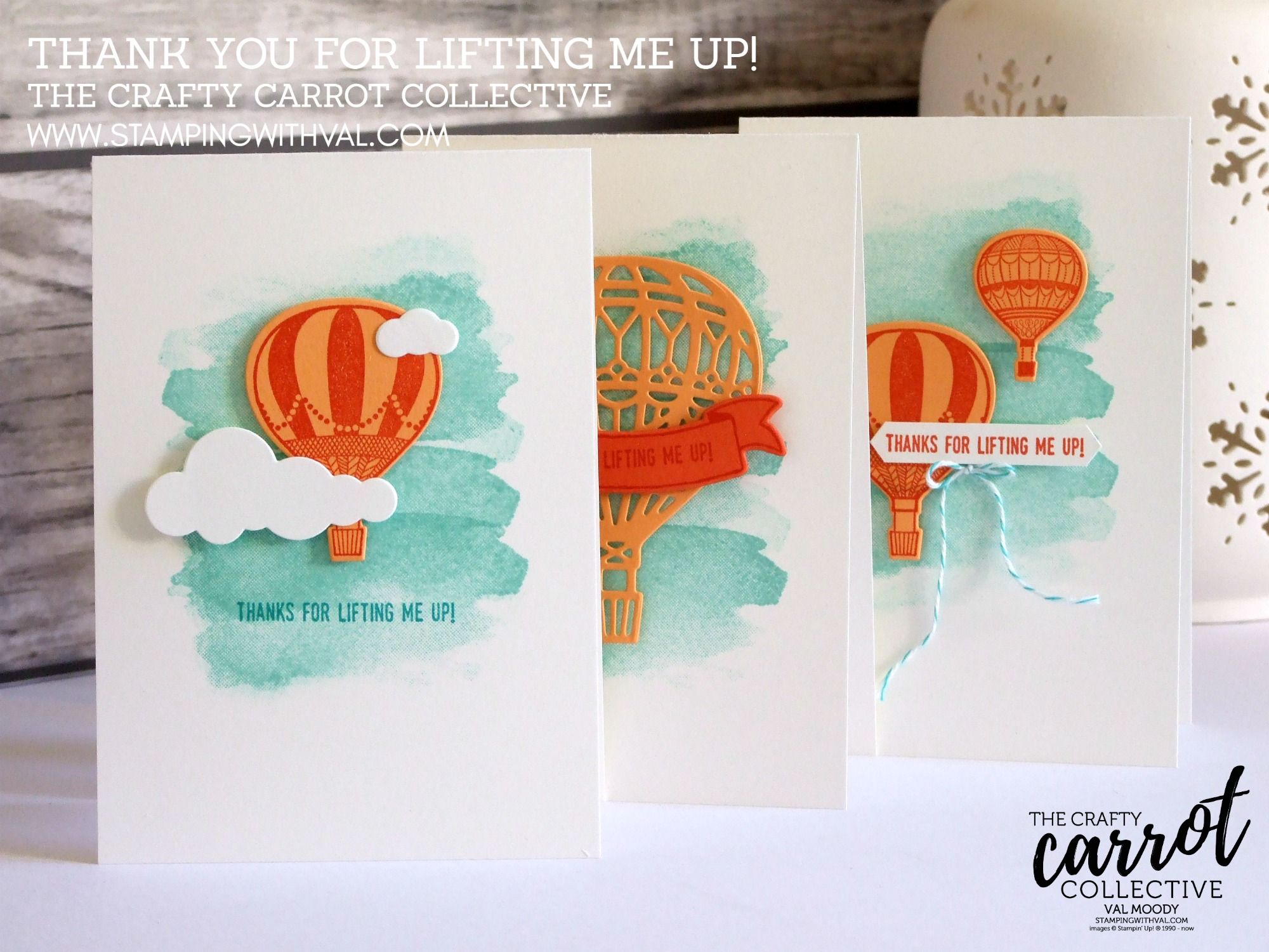 Stampin' Up! UK - Crafty Carrot Collective - Valerie Moody