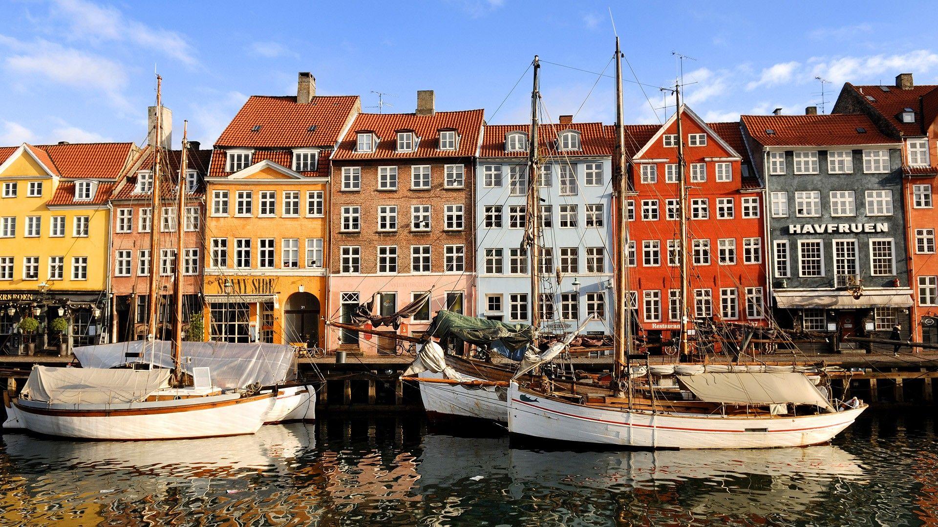 Hd Wallpaper District Copenhagen Danmark