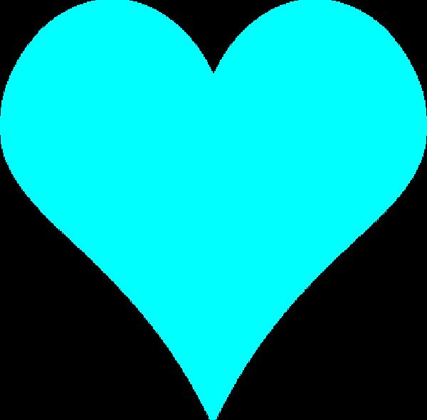 Teal Heart Clip Art teal hearts | teal hea...