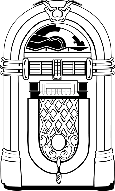 free fifties jukebox 50 s party pinterest jukebox clip art