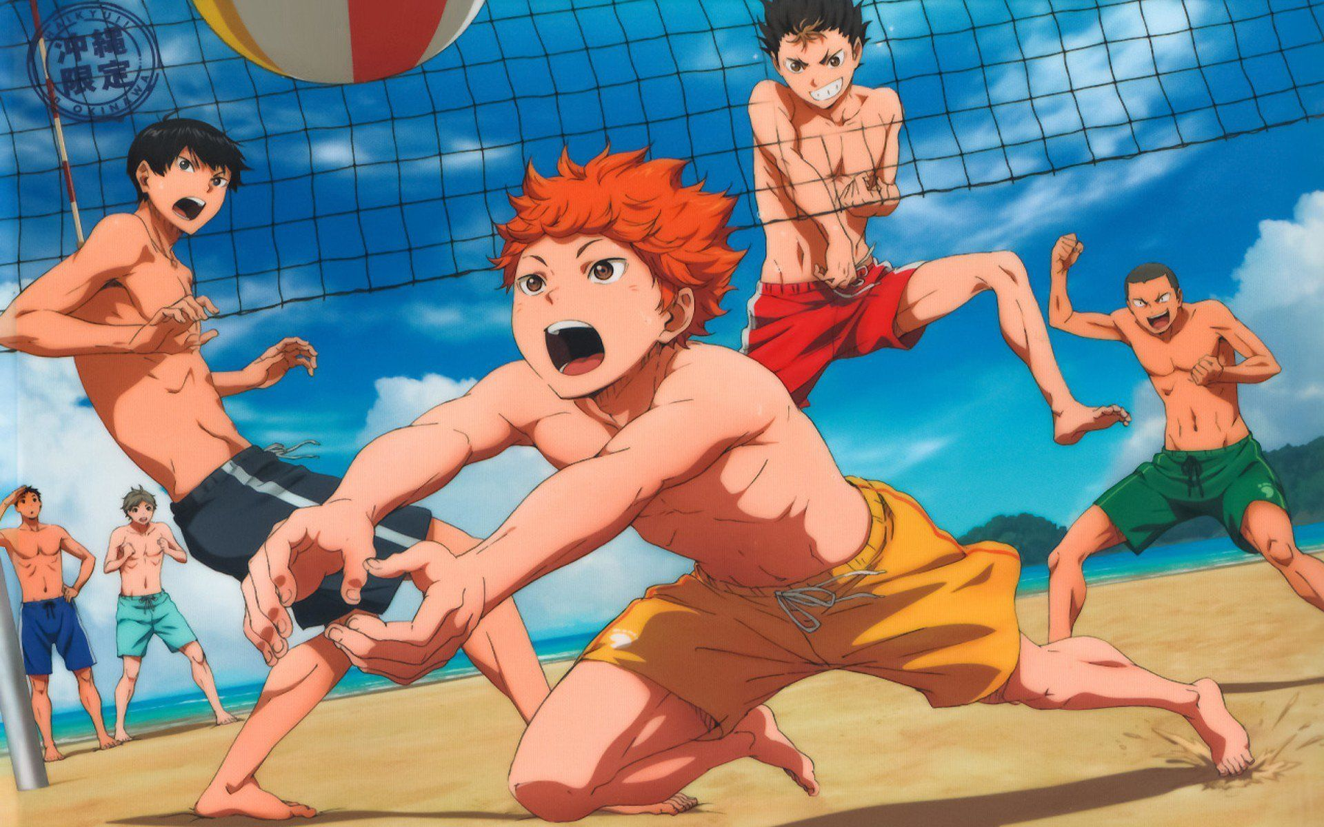 Olympic Games Haikyuu Beach Volleyball Haikyuu Beach Volleyball Beach Volleyball Hairstyles Beach Volleyball Poster In 2020 Haikyuu Karasuno Haikyuu Haikyu
