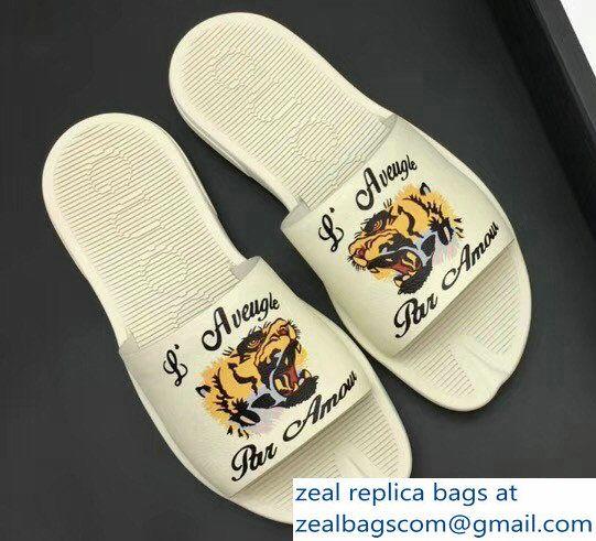 48b710abaab Gucci Men  s Slide Sandals Vintage Logo Black 02 2018