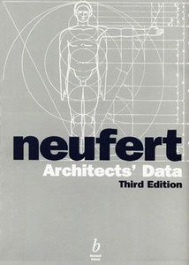 Neufert Architects Data Third Edition By Ernst Neufert